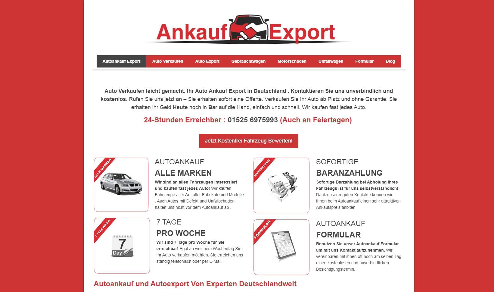 Autoankauf in Chemnitz