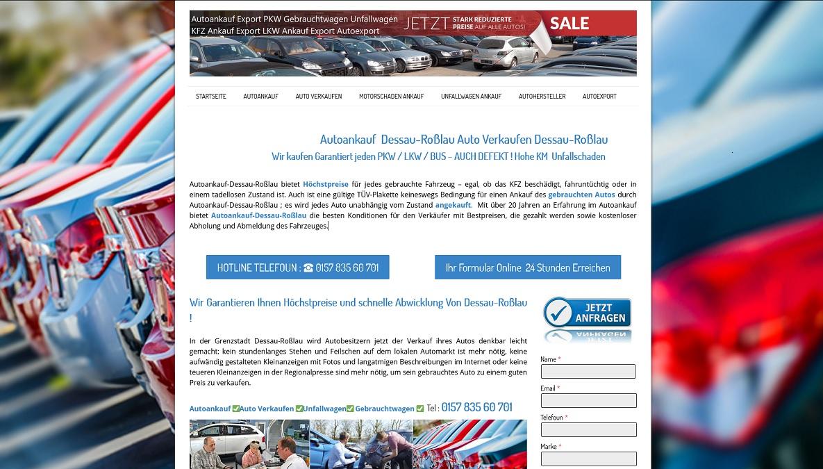 Autoankauf-Schnell.de | Autoankauf Dessau-Roßlau | Autoankauf Export Dessau-Roßlau